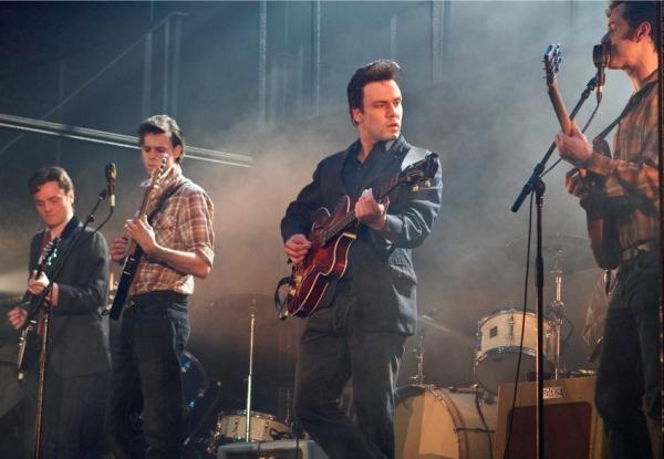 Daniel Healy, Daniel Westwick, Nick Blood and Andrew Knott Photo