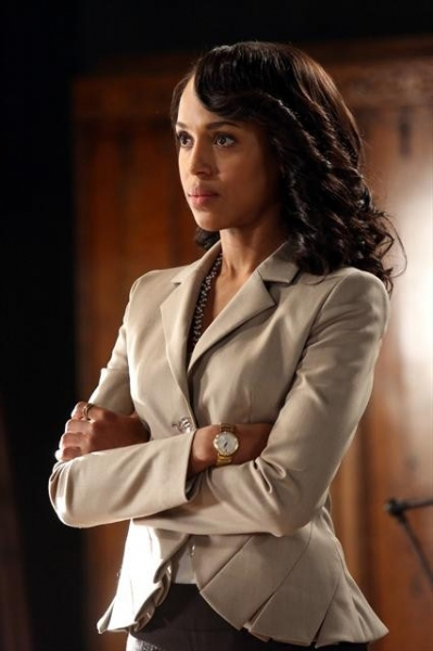 KERRY WASHINGTON at SCANDAL's 'Truth or Consequences,' Airing 1/31