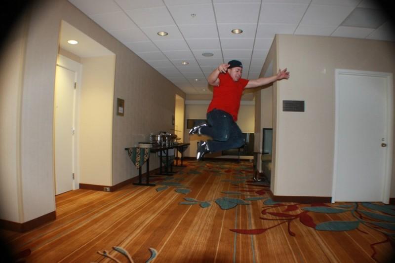 Freddy getting air