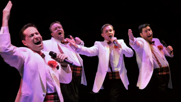 Photo Flash: First Look at Hale Theatre's FOREVER PLAID