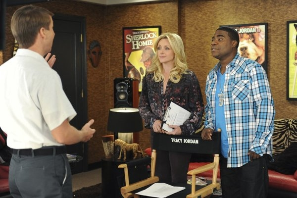 Jack McBrayer, Jane Krakowski, Tracy Morgan at 30 ROCK's 'Florida' Episode, Airing 1/17