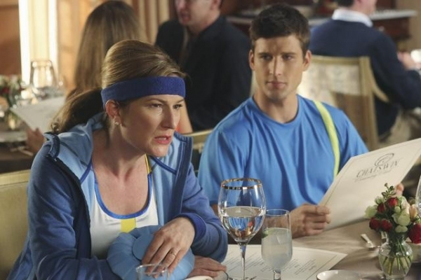 ANA GASTEYER, PARKER YOUNG