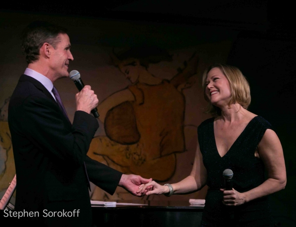 Howard McGillin & Rebecca Luker at Howard McGillin and Rebecca Luker Bring BROADWAY ROMANCE to Café Carlyle