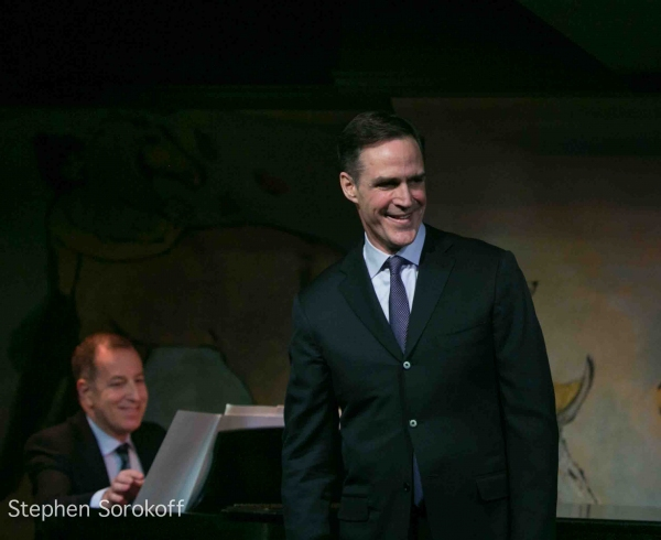 Howard McGillin at Howard McGillin and Rebecca Luker Bring BROADWAY ROMANCE to Café Carlyle