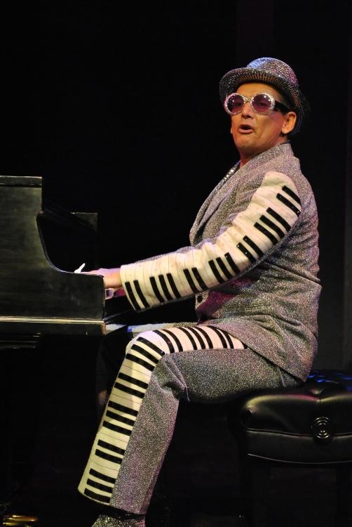 High Res Ian Von Memerty as Elton John