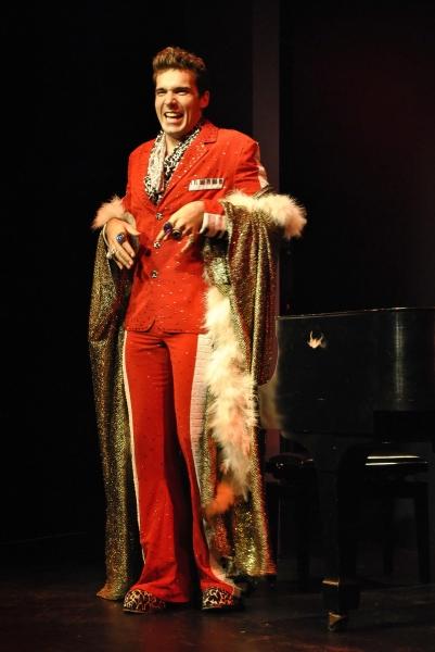 Jonathan Roxmouth as Liberace Photo