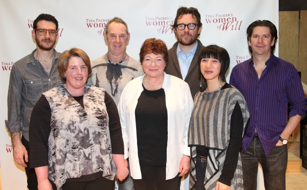 Photo Coverage: Cast of WOMEN OF WILL Meets the Press!