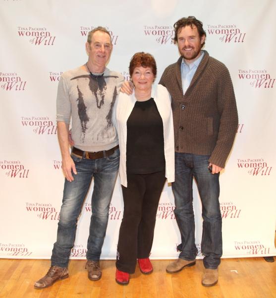 Nigel Gore, Tina Packer & director Eric Tucker