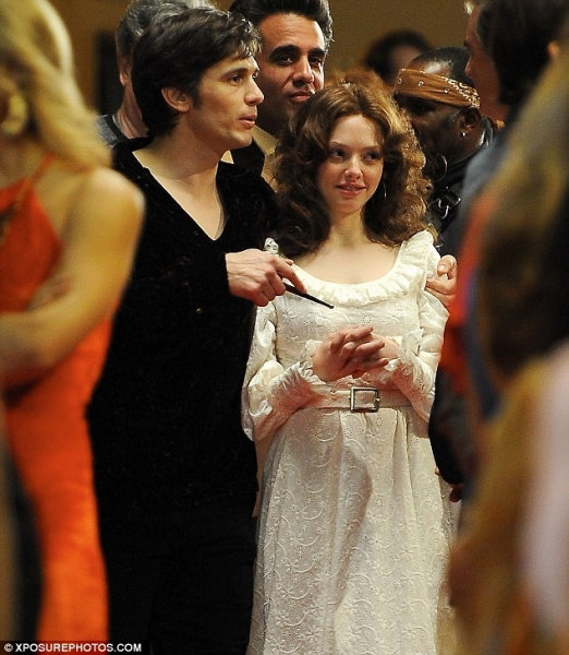 James Franco, Amanda Seyfriend at First Look - Amanda Seyfried Stars in LOVELACE