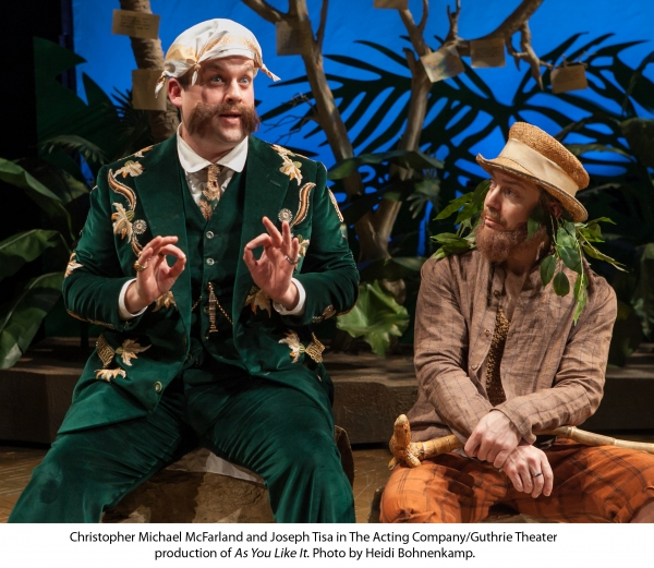 Photo Flash: First Look at The Acting Company/Guthrie's Production of AS YOU LIKE IT