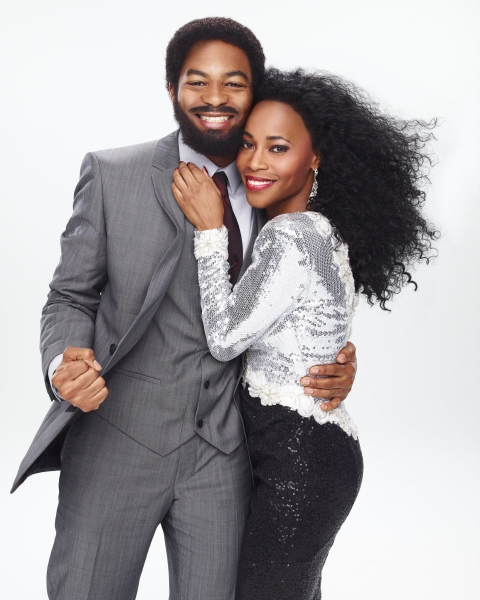 Photo Flash: First Look at Brandon Victor Dixon & Valisia LeKae in MOTOWN!