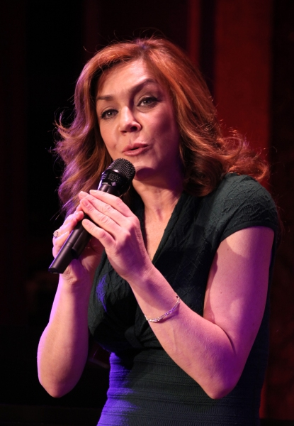 Photo Coverage: Andrea McArdle Previews 54 Below Show!