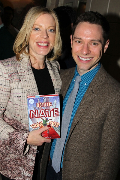 Photo Flash: Tom Schumacher, Sherie Rene Scott and More Attend Tim Federle's BETTER NATE THAN EVER Book Party