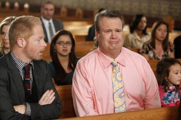 JESSE TYLER FERGUSON, ARIEL WINTER, ERIC STONESTREET, AUBREY ANDERSON-EMMONS at Next Week's All New MODERN FAMILY