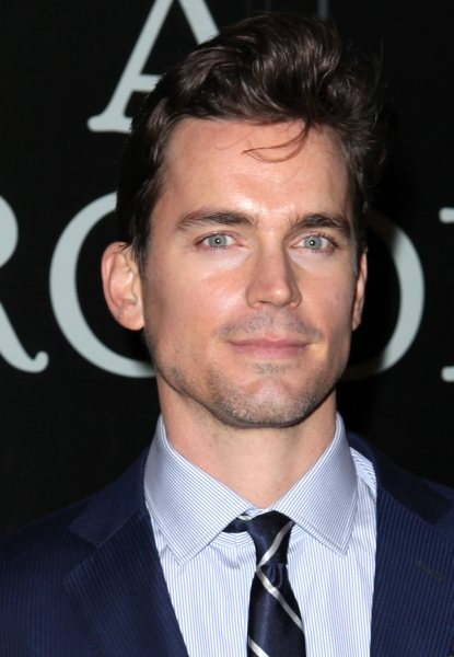 Matt Bomer  at CAT ON A HOT TIN ROOF's Opening Night Theatre Arrivals