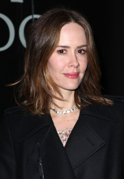 Sarah Paulson  at CAT ON A HOT TIN ROOF's Opening Night Theatre Arrivals