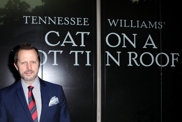 Rob Ashford  at CAT ON A HOT TIN ROOF's Opening Night Theatre Arrivals