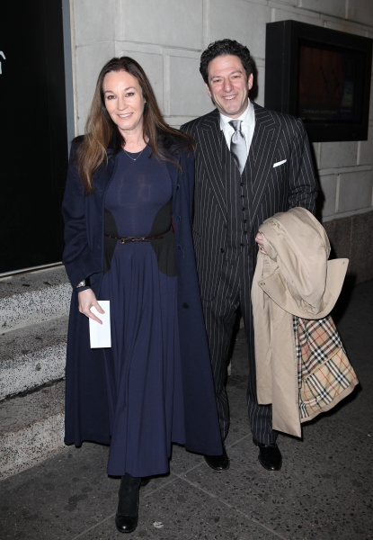 Jessica Molaskey & John Pizzarelli  at CAT ON A HOT TIN ROOF's Opening Night Theatre Arrivals