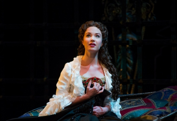 Photo Flash: First Look at Sierra Boggess in THE PHANTOM OF THE OPERA on Broadway!