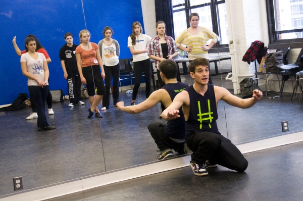 Photo Flash: Jeremy Jordan Teaches Musical Theatre Intensive for Broadway Workshop