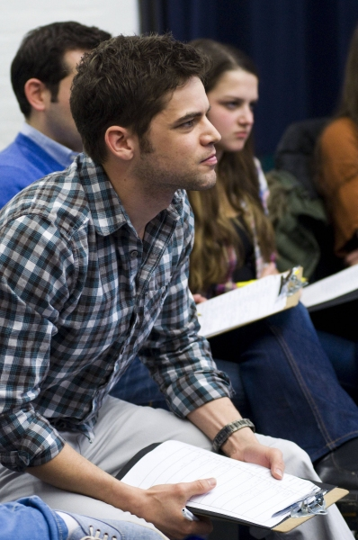 Jeremy Jordan at Jeremy Jordan Teaches Musical Theatre Intensive for Broadway Workshop