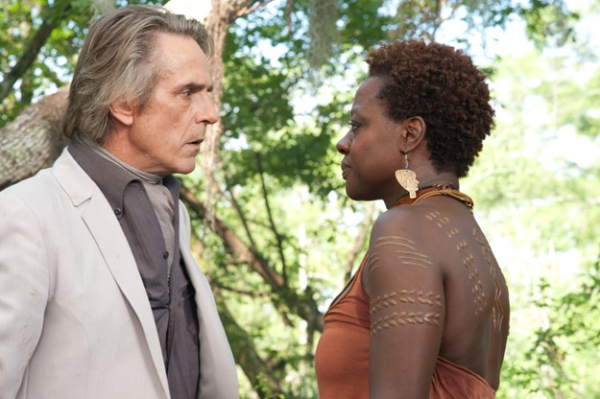 JEREMY IRONS,VIOLA DAVIS  at Viola Davis, Emmy Rossum & More in BEAUTIFUL CREATURES