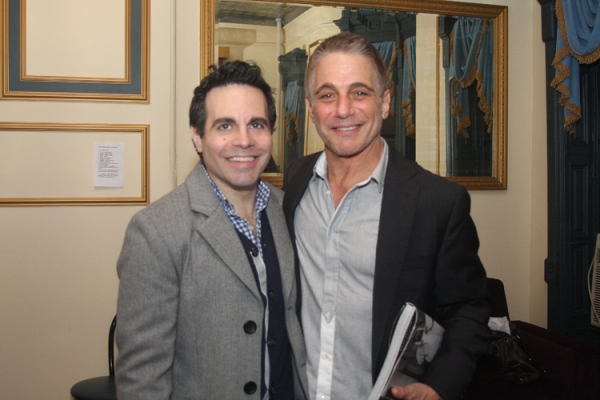 Mario Cantone and Tony Danza at Mario Cantone, Tony Danza and More in CELEBRITY AUTOBIOGRAPHY