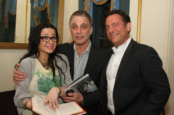 Janeane Garofalo, Tony Danza, and Eugene Pack at Mario Cantone, Tony Danza and More in CELEBRITY AUTOBIOGRAPHY