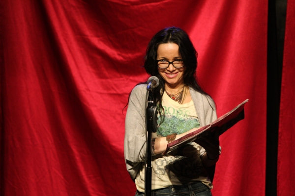 Janeane Garofalo at Mario Cantone, Tony Danza and More in CELEBRITY AUTOBIOGRAPHY