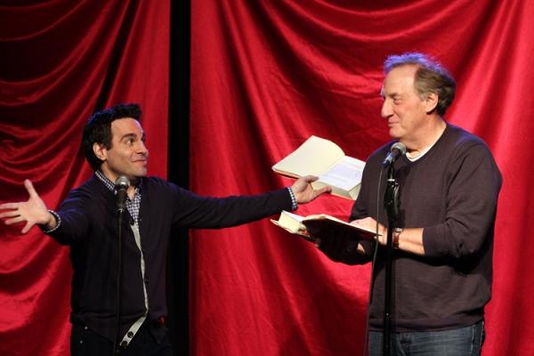 Mario Cantone and Alan Zweibel at Mario Cantone, Tony Danza and More in CELEBRITY AUTOBIOGRAPHY