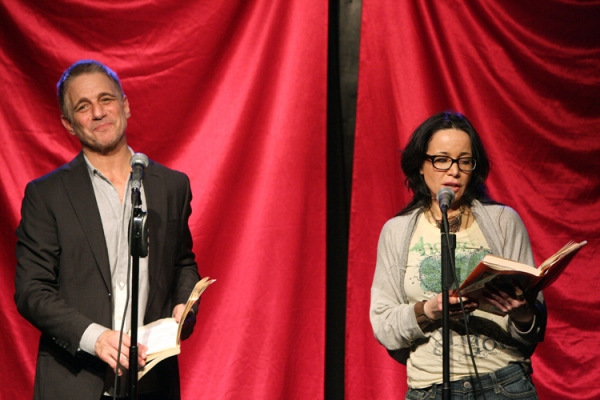 Tony Danza and Janeane Garofalo at Mario Cantone, Tony Danza and More in CELEBRITY AUTOBIOGRAPHY
