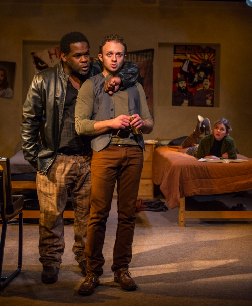 Photo Flash: First Look at The Amoralists' COLLISION at Rattlestick