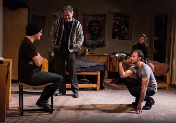 Nick Lawson as Bromley, Michael Cullen as Professor Denton, James Kautz as Grange and Photo