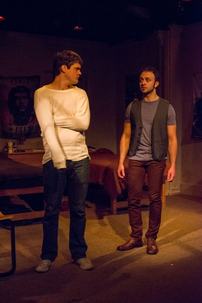 Nick Lawson as Bromley and James Kautz as Grange