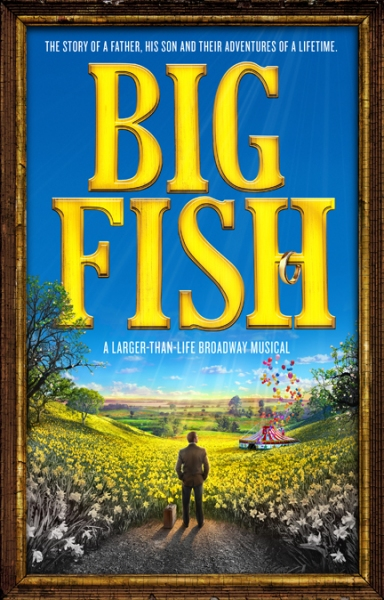 Photo Flash: Artwork Revealed for BIG FISH on Broadway!