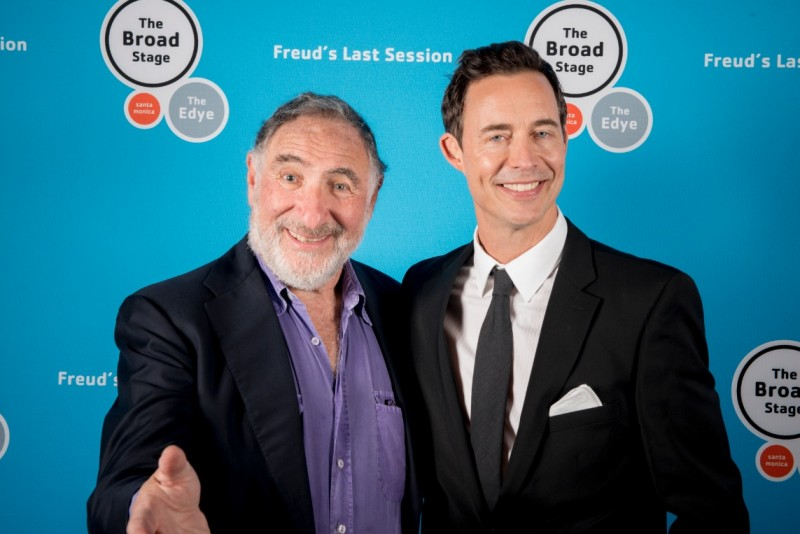 Photo Flash: Opening Night of Judd Hirsch and Tom Cavanagh in FREUD'S LAST SESSION