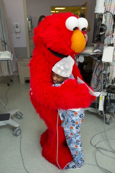Photo Flash: Elmo and Garden of Dreams Foundation Celebrate NYU Tisch Pediatric Ward Reopening