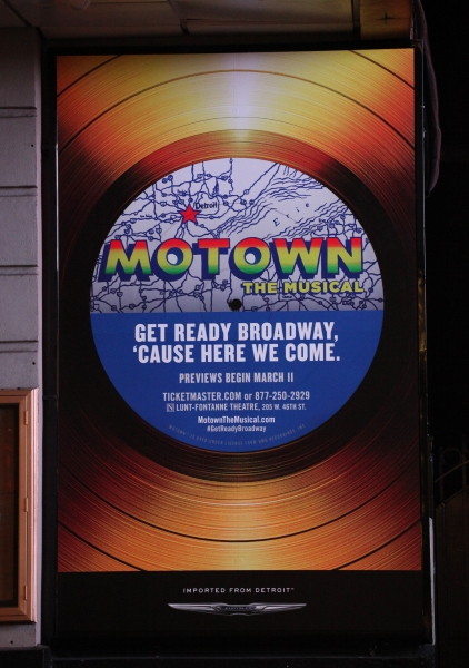 Up on the Marquee: MOTOWN - THE MUSICAL