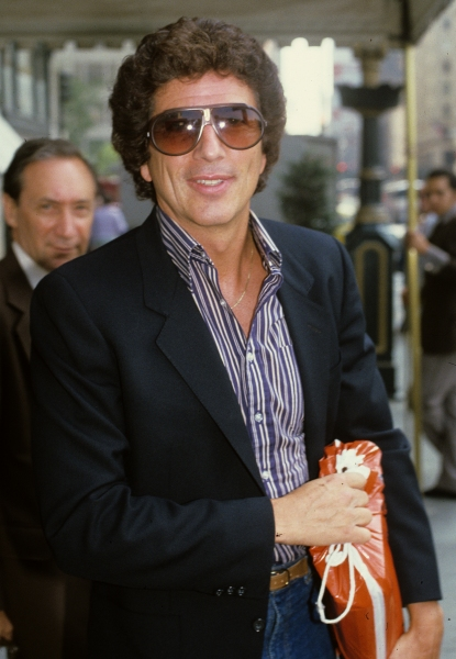 Bert Convy pictured in New York City in 1981.