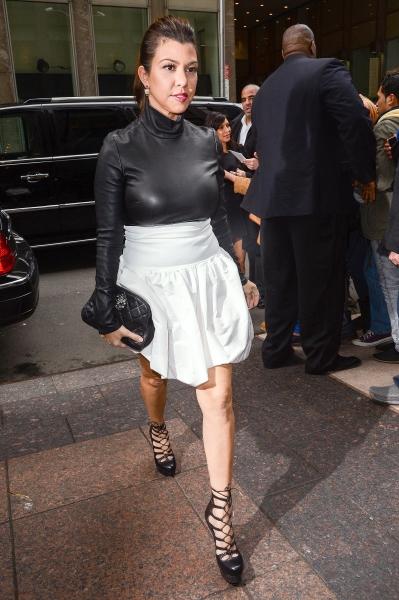 Kourtney Kardashian at Sirius Radio, New York (Photo by Everett Collection / Rex USA)