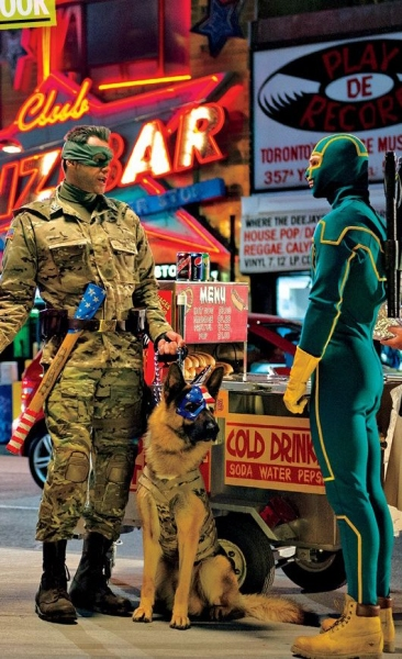 Photo Coverage: First Look at KICK-ASS 2!