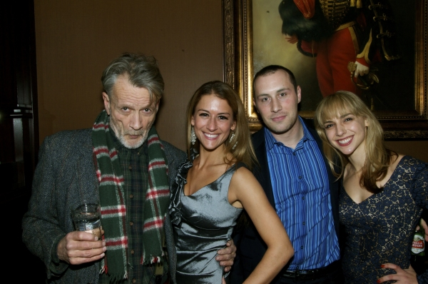 The cast of Spirits of Exit Eleven (from left to right)  Stephen Payne, Deborah Rayne, Michael Carlsen and Nicole Balsam