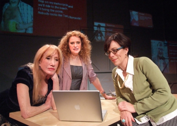 Diane Cary, Sharon Sharth and Jane Kaczmarek