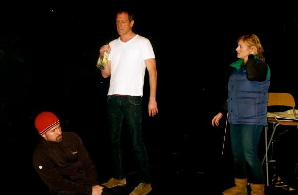 Jedadiah Schultz, Darren Pettie, Jennifer Ludwigsen Photo