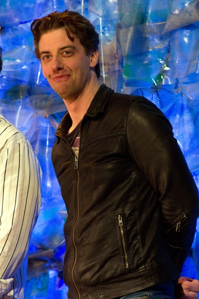 Christian Borle  at PETER AND THE STARCATCHER Cast Takes Final Broadway Bow!