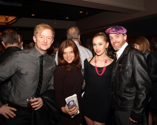Kyle Nudo, Katherine Malak, Suzanne Jolie, and Matt Walker