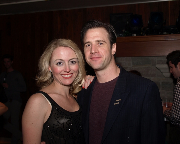 Amy Rutberg and Carter Roy