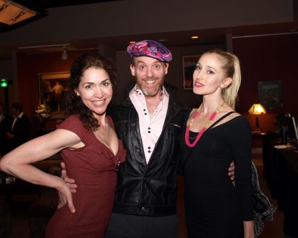 Stasha Surdyke, Matt Walker, and Suzanne Jolie