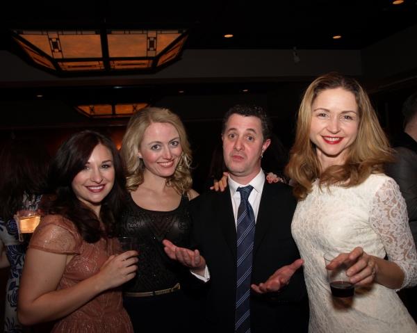 Kalie Quinones, Amy Rutberg, and Melanie Lora with Director Jeff Maynard