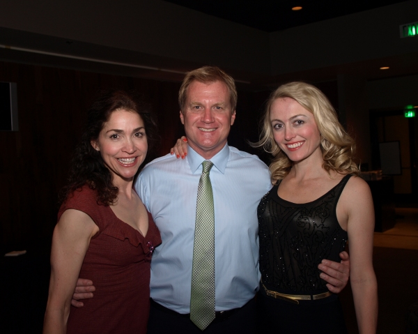 Stasha Surdyke, Tom McCoy, and Amy Rutberg